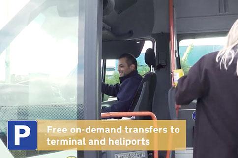 aberdeen-airport-car-park-bus
