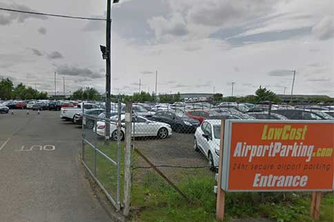 Edinburgh-Airport-Low-Cost-Park-and-Ride-Entrance