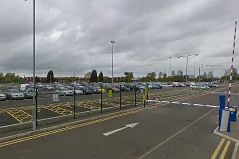 Durham-Tees-Valley-On-Airport-Parking-Entrance