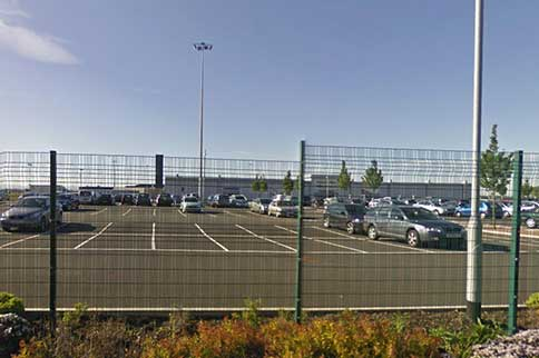 Durham-Tees-Valley-On-Airport-Parking-Security-Fences
