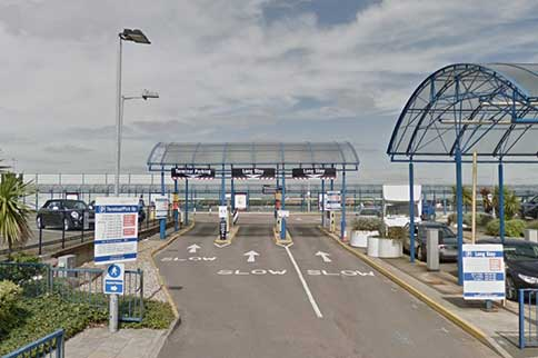 London-City-Airport-Long-Stay-Entrance