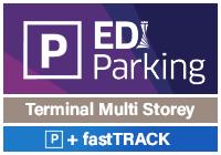 Edinburgh Airport Multi-Storey car park with FastTrack