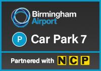Official Birmingham Airport Car Park 7 logo