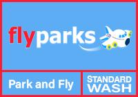EXT Flyparks Meet & Greet + Standard car wash