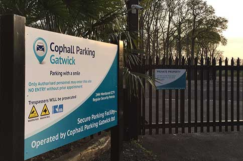 Gatwick-Cophall-Park-and-Ride-Entrance