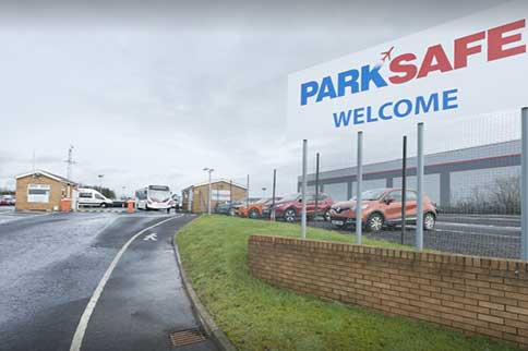 Glasgow-ParkSafe-Park-and-Ride-Signage
