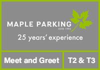 Heathrow Maple Parking Meet and Greet T2 & T3 logo