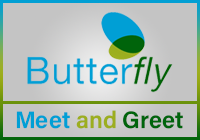 Butterfly Meet and Greet Parking logo
