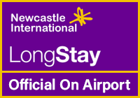 Official Newcastle Airport Long Stay logo