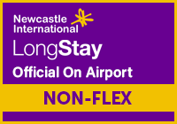Official Newcastle Airport Long Stay - NON-FLEX logo