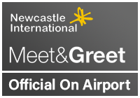 Official Newcastle Airport Meet & Greet logo