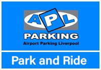 Liverpool Airport APL Park & Ride logo
