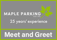 Stansted Maple Parking Meet & Greet logo