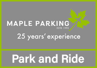 Stansted Maple Parking Park & Ride logo