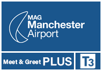 Manchester Airport Meet and Greet PLUS terminal 3 logo