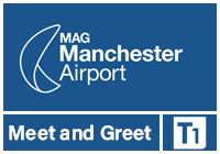 Manchester Airport Meet and Greet T1 logo