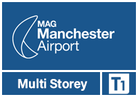 Manchester Airport T1 Multi-Storey logo