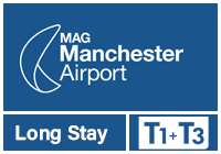 Manchester Airport T1 & T3 Long Stay logo
