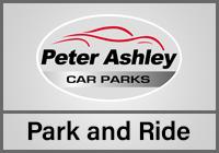 Manchester Peter Ashley Park & Ride logo