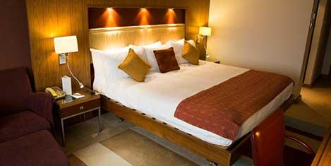 Birmingham Hilton Hotel Room