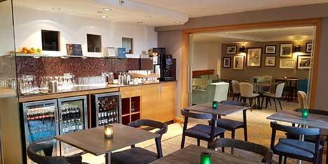 BHX Hilton Hotel Breakfast