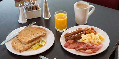 EDI Holiday Inn Express Breakfast
