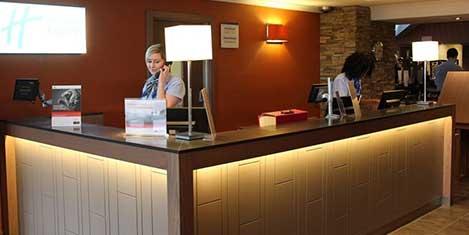 EDI Holiday Inn Express Reception