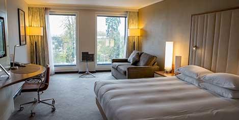 LHR Hilton T5 Room