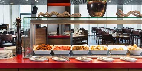 LHR Park Inn Breakfast