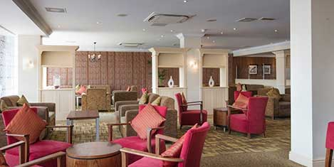 LHR Thistle Hotel Dining