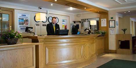 MAN Britannia Airport Inn Reception