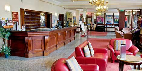 MAN Britannia Stockport Hotel Reception