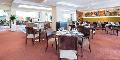 LGW Arora Hotel Breakfast
