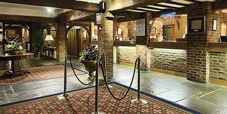 LGW Copthorne Hotel Reception