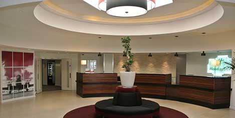 LGW Holiday Inn Worth Reception Lobby