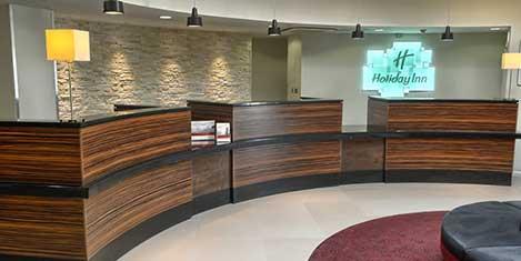 LGW Holiday Inn Worth Reception