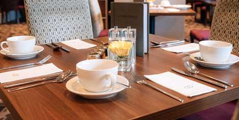 LGW Sofitel Hotel Breakfast