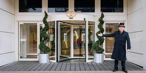 LGW Sofitel Hotel Entrance