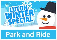 Luton Park and Ride Winter Special logo