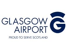 Glasgow airport lounge logo