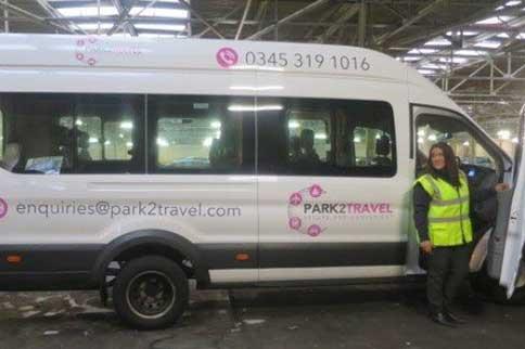 Leeds-Bradford-Airport-Park2Travel-Transfer-Van
