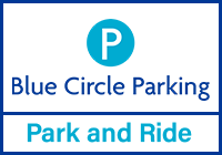 Heathrow Blue Circle Park and Ride logo