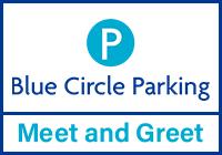 Heathrow Blue Circle Meet and Greet logo
