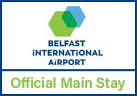 Belfast International Main Stay logo