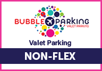 Gatwick Bubble Valet Parking - NON-FLEX Logo