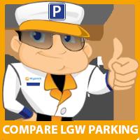 SkyParkSecure Gatwick parking logo