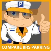 SkyParkSecure Bristol airport parking logo