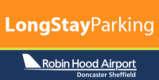 Doncaster Airport Long Stay car park logo