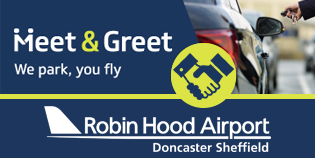 Doncaster (Robin Hood) Airport Meet and Greet logo