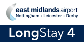 East Midlands Airport Long Stay 4 logo